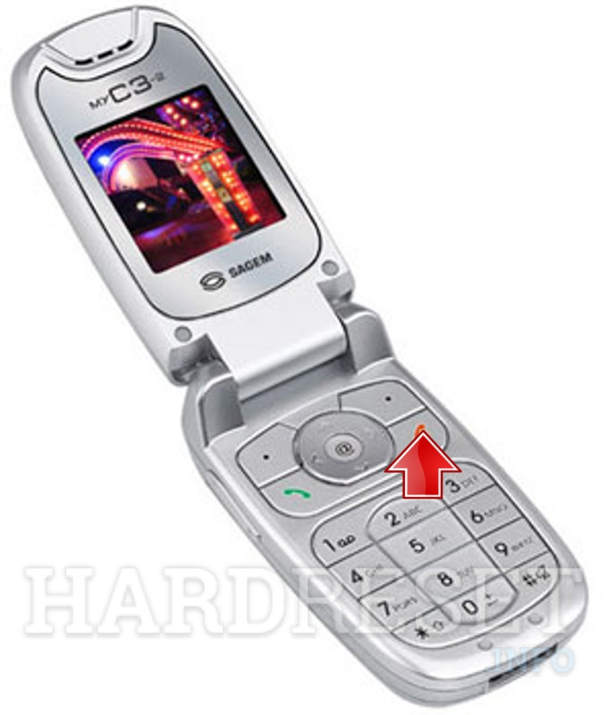SAGEM MY C3-2 - How to Hard Re...