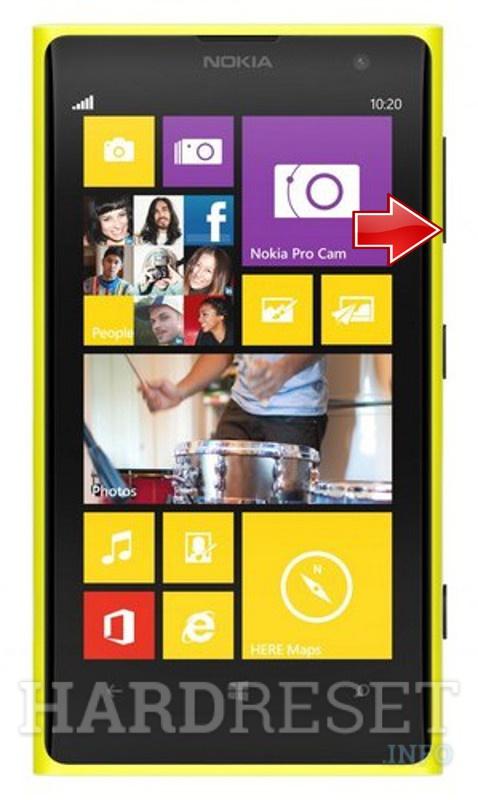 Hard Reset NOKIA Lumia 1020 - HardReset info