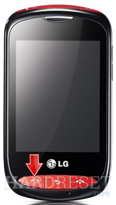 HardReset LG T310 Cookie Style
