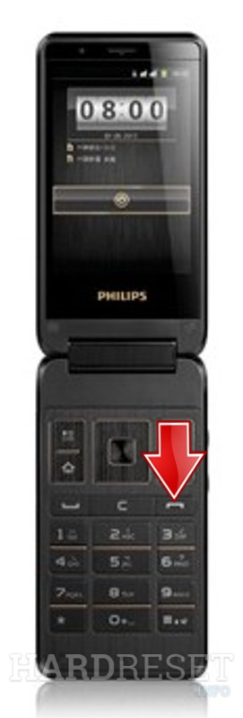 Hard Reset PHILIPS W930