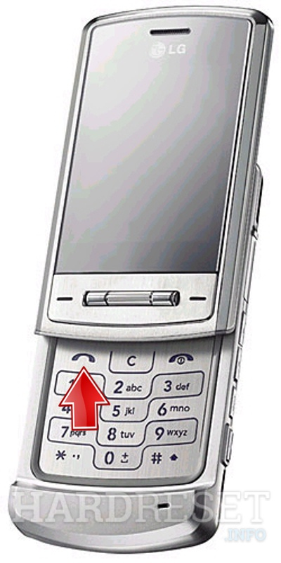 Remove screen password on LG KE970 Shine
