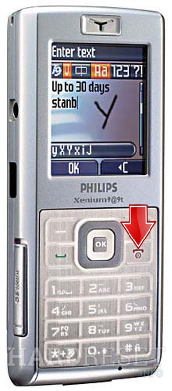 Hard Reset PHILIPS Xenium 9@9t