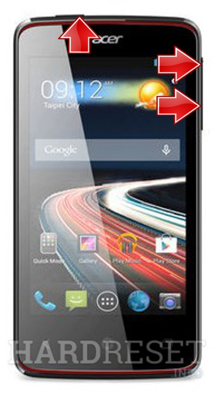 Hard Reset ACER Liquid Z4