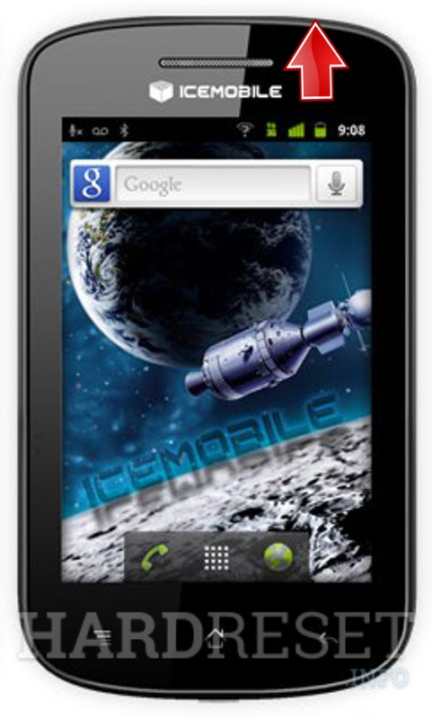 Hard Reset ICEMOBILE Apollo Touch 3G