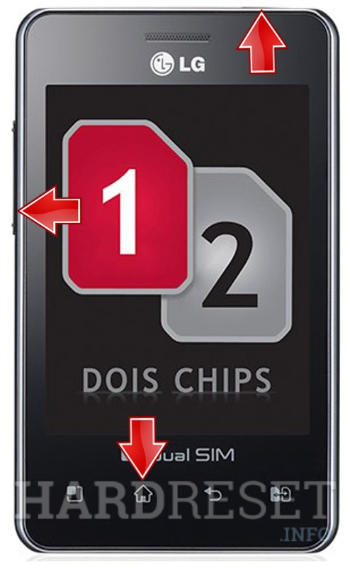 Permanently delete data from LG E405f Optimus L3 Dual