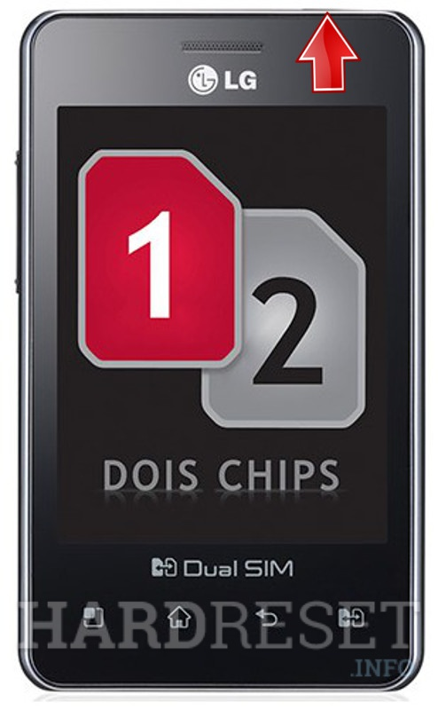 Remove Screen Lock on LG E405f Optimus L3 Dual