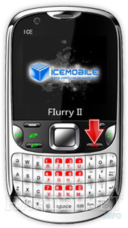 Hard Reset ICEMOBILE Flurry II
