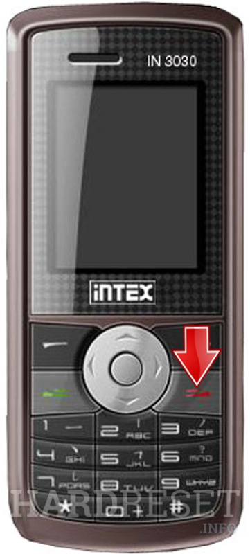 Hard Reset INTEX IN 3030