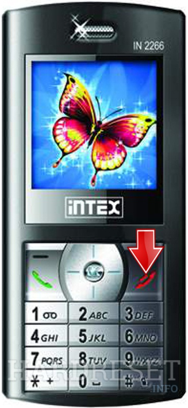 Hard Reset INTEX IN 2266