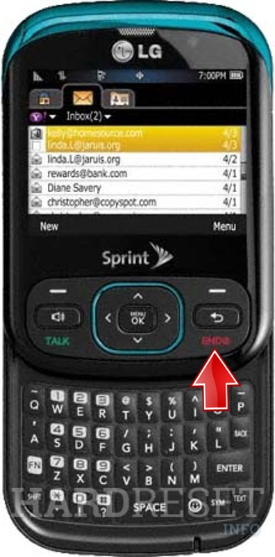 how to hard reset my phone lg ln240 remarq hardreset info rh hardreset info LG LN510 Rumor LG Ally