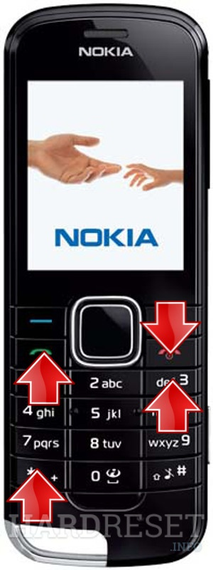 Wipe data on NOKIA 2228