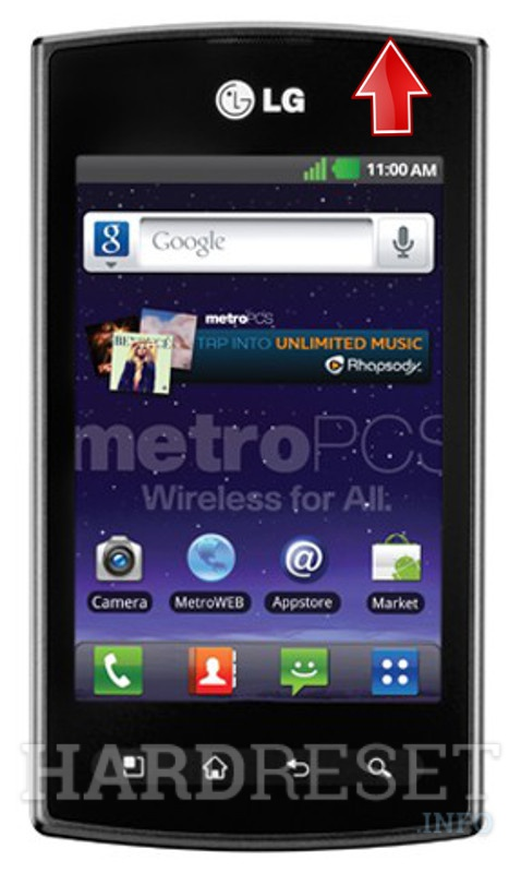 Hard Reset LG Optimus M+ MS695