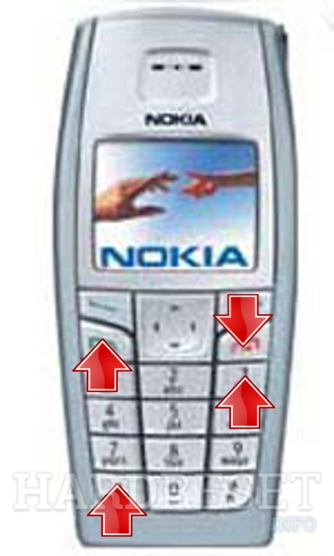 Permanently delete data from NOKIA 6015i