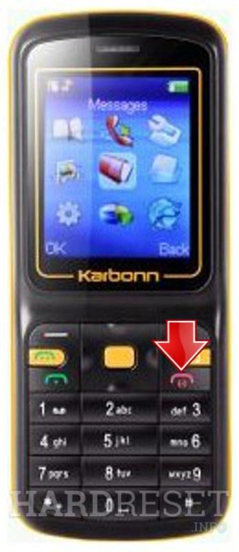 Hard Reset KARBONN K110 - HardReset info