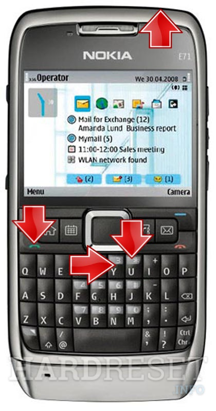 how to hard reset my phone nokia e71 hardreset info rh hardreset info Nokia E73 Nokia E63