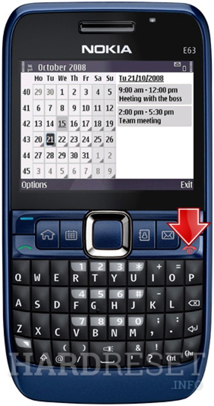 how to hard reset my phone nokia e63 hardreset info rh hardreset info