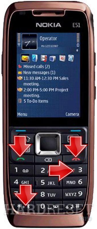 how to hard reset my phone nokia e51 hardreset info rh hardreset info nokia e51 manuale nokia e51 manuale
