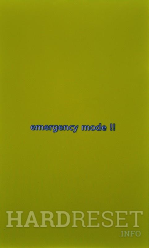 Emergency Mode LG L40 D160 - HardReset info