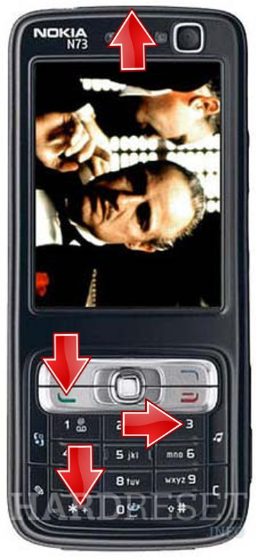 HardReset NOKIA N73 Godfather Edition