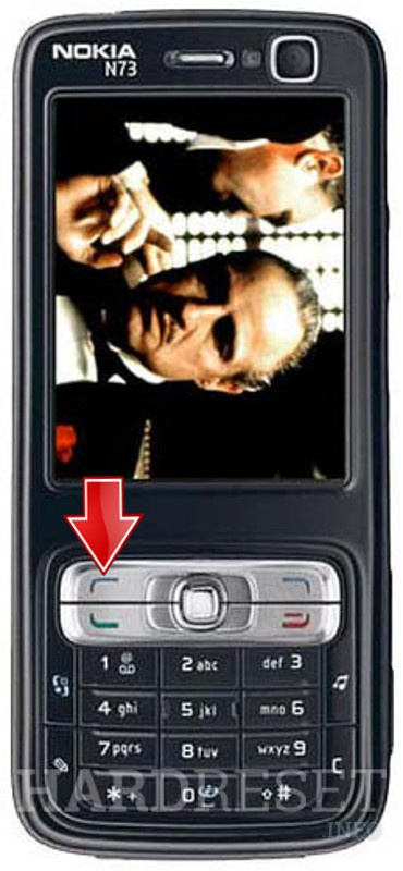 Factory Reset NOKIA N73 Godfather Edition