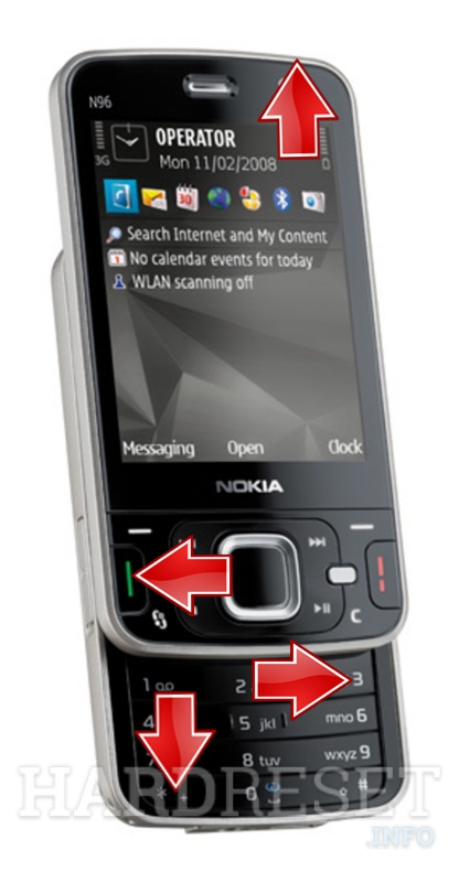 how to hard reset my phone nokia n96. Black Bedroom Furniture Sets. Home Design Ideas