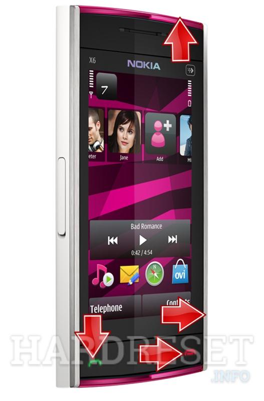 how to hard reset my phone nokia x6 16gb hardreset info rh hardreset info