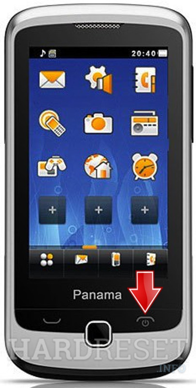 Hard Reset ORANGE Panama Huawei G7210