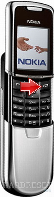Remove Screen Lock on NOKIA 8800
