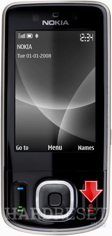 Hard Reset NOKIA 6260 slide