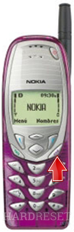 Wipe data on NOKIA 3280