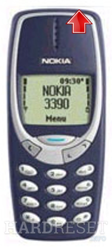 Wipe data on NOKIA 3390B