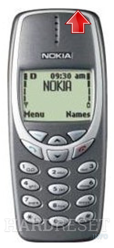 Remove Screen Lock on NOKIA 3321