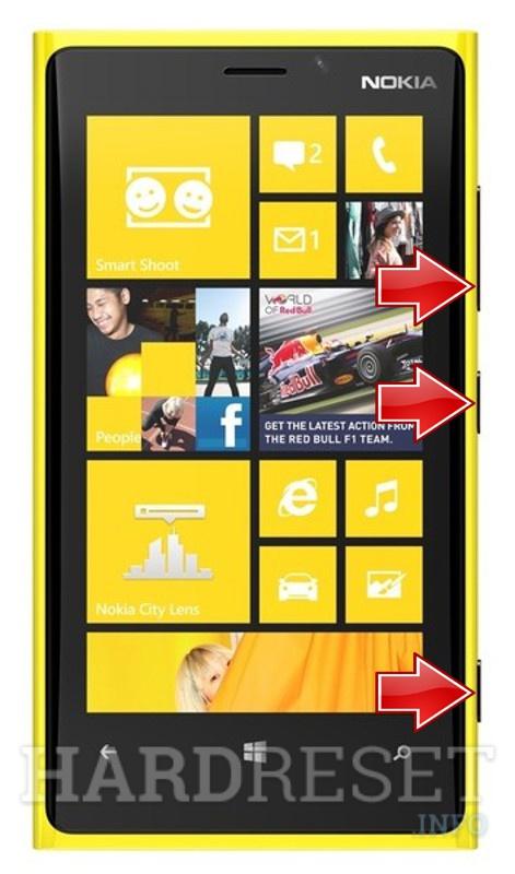 HardReset NOKIA Lumia 920