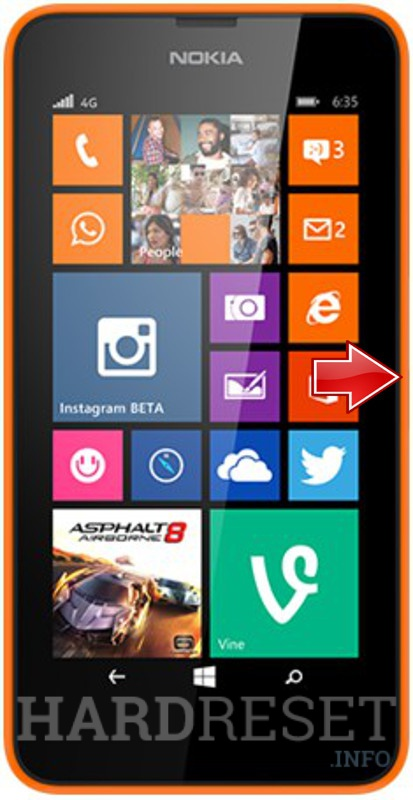 forgot microsoft account password in nokia lumia 625