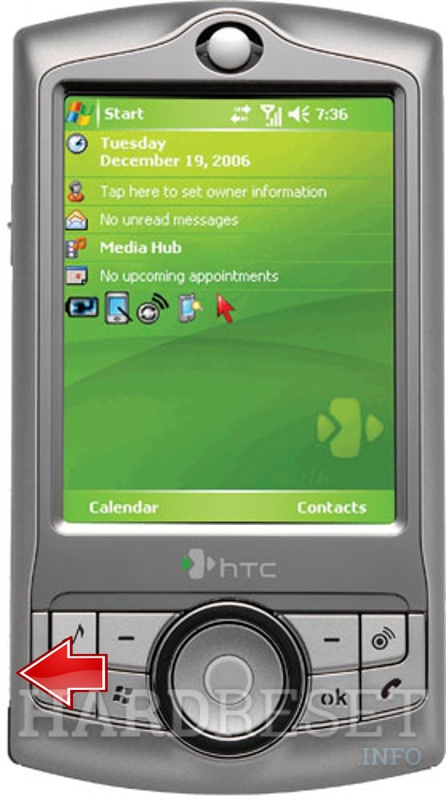 Factory Reset HTC P3340 (HTC Love)