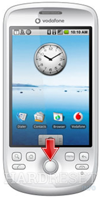 Remove screen password on HTC A617X (HTC Sapphire)