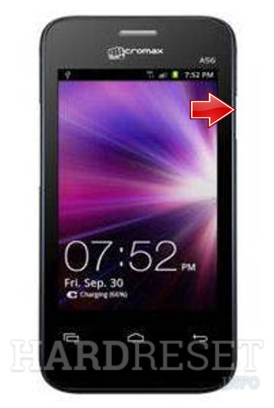 Hard Reset MICROMAX A56