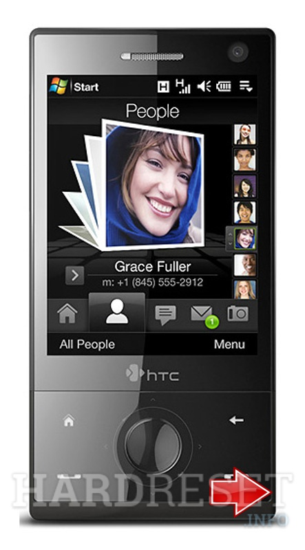 HardReset HTC P3051 (HTC Diamond)
