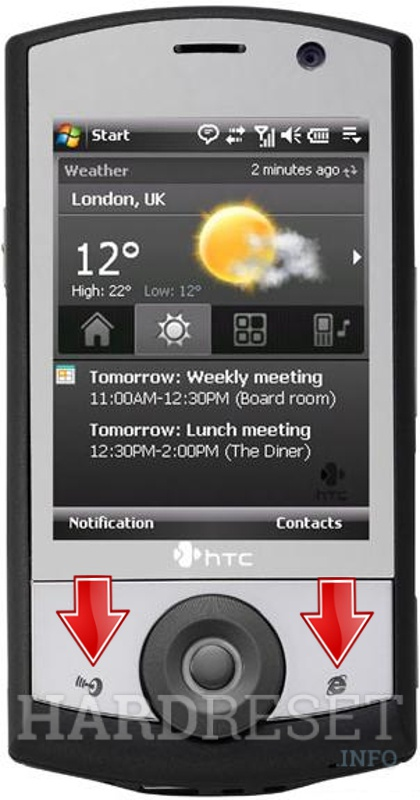 Permanently delete data from HTC P3651 (HTC Polaris)