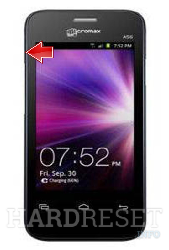 Master Reset MICROMAX A56