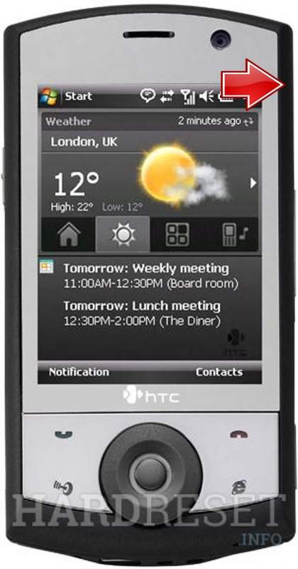 Remove Screen Lock on HTC P3650 (HTC Polaris)