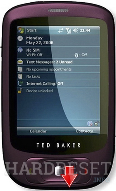 Factory Reset HTC Ted Baker Needle (HTC Elf)