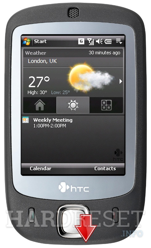 HardReset HTC Touch (HTC Vogue)