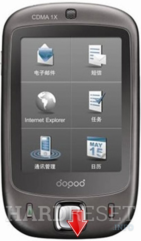 Factory Reset DOPOD S500 (HTC Vogue)
