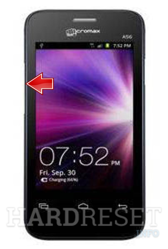 Factory Reset MICROMAX A56