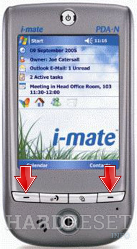 Hard Reset I-MATE PDA-N (HTC Galaxy)