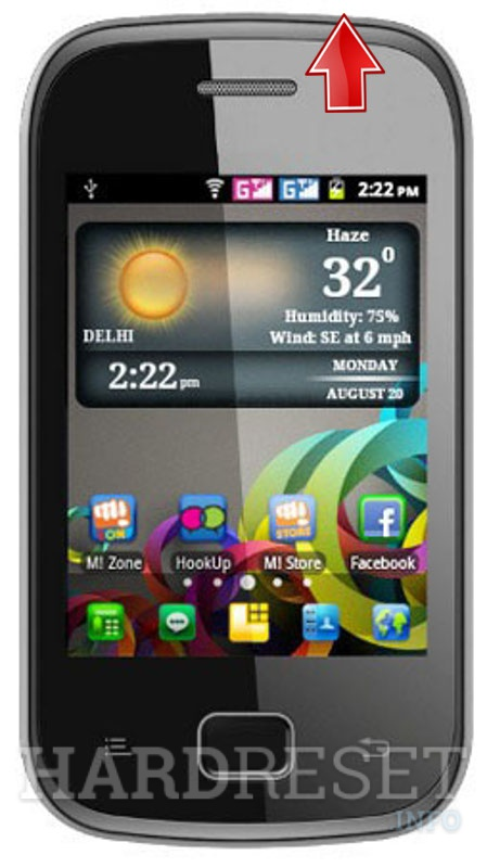 Hard Reset MICROMAX A25