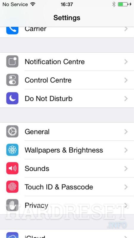 Restablecimiento Hard Reset Apple Iphone 5c Mostrar Más Hardreset Info