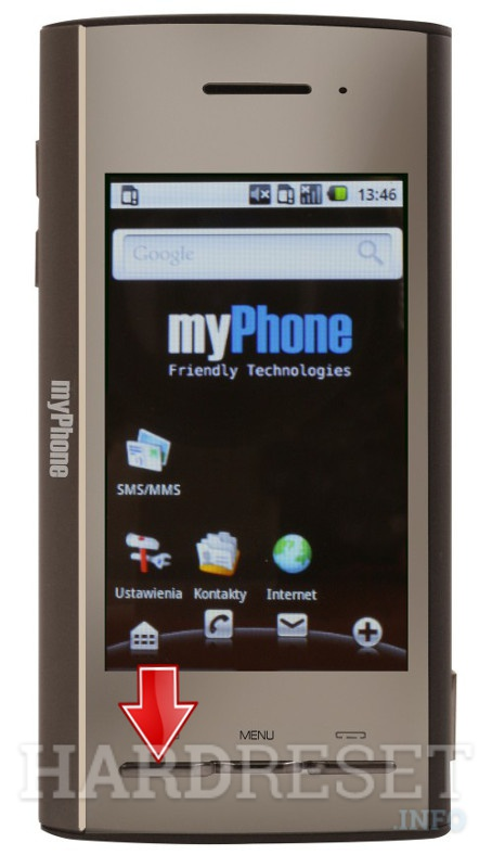 HardReset myPhone A210 PROXION