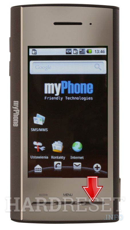 Hard Reset myPhone A210 PROXION